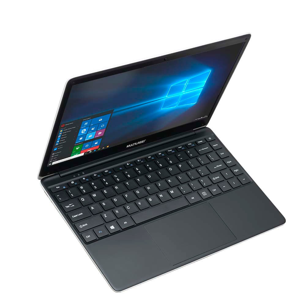 Combo Notebook Multilaser Legacy Book 4GB 64GB + Mochila Swisspack + Headphone + Mouse - PC238