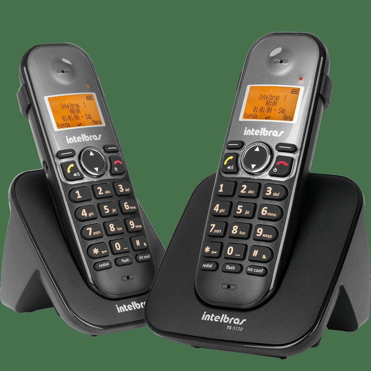 Kit Telefone sem Fio + Ramal  Intelbras TS 5122