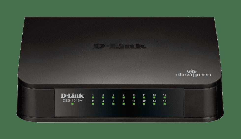 DES 1016A Switch Fast Ethernet 16 portas