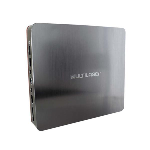 Mini Desktop Urban Red Core I3 4GB 120GB SSD Windows 10 Home - DT026
