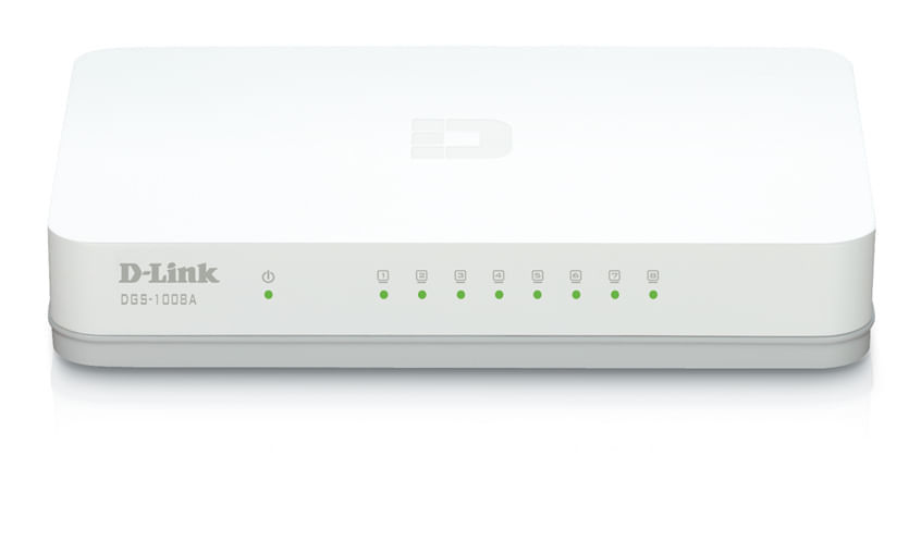 DGS 1008A Switch Gigabit 8 portas