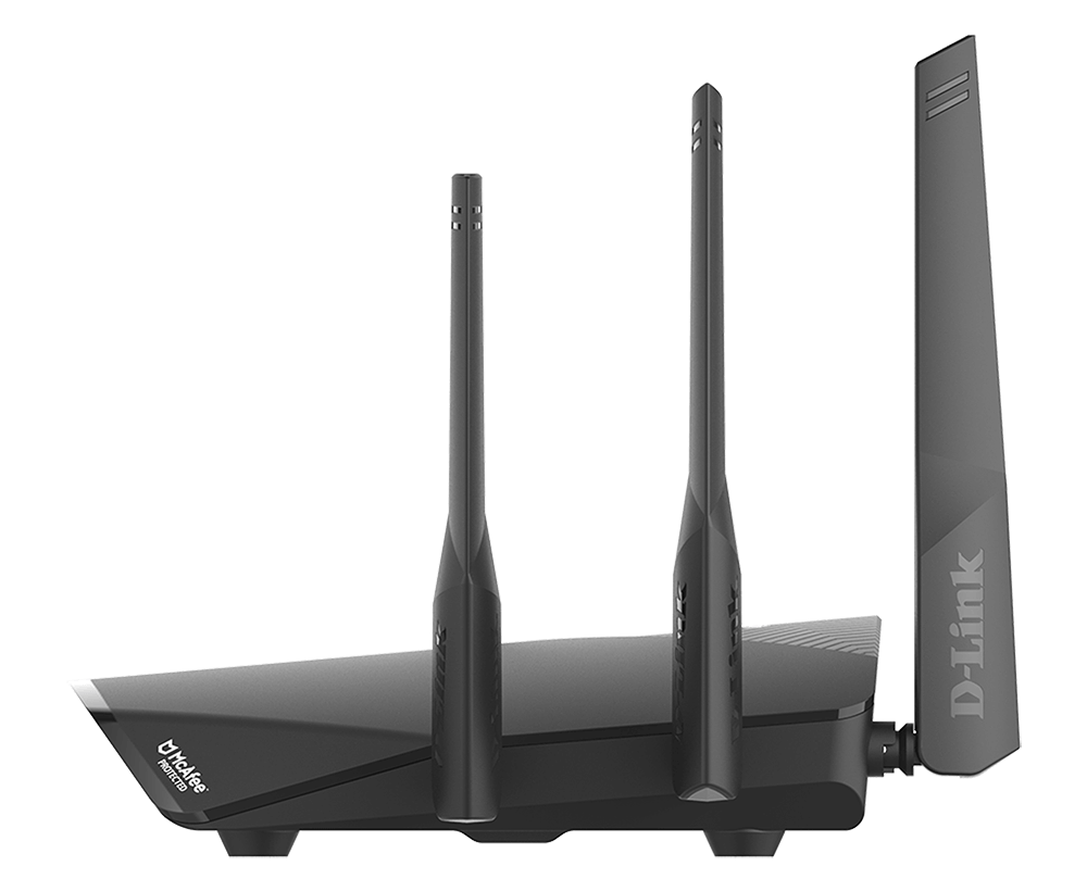 DIR 3060 Roteador Wireless MESH AC 3000Mbps Gigabit McAfee
