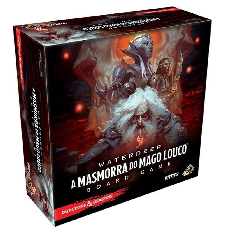 Dungeons & Dragons - A Masmorra do Mago Louco - Galápagos
