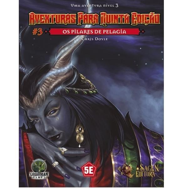 Dungeons & Dragons Aventuras para 5º Edição - Os Pilares de Pelagia - Galápagos