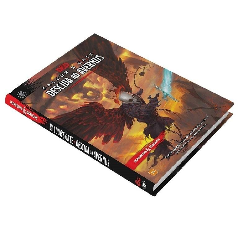 Dungeons & Dragons: Descida ao Avernus (PT) - Galápagos