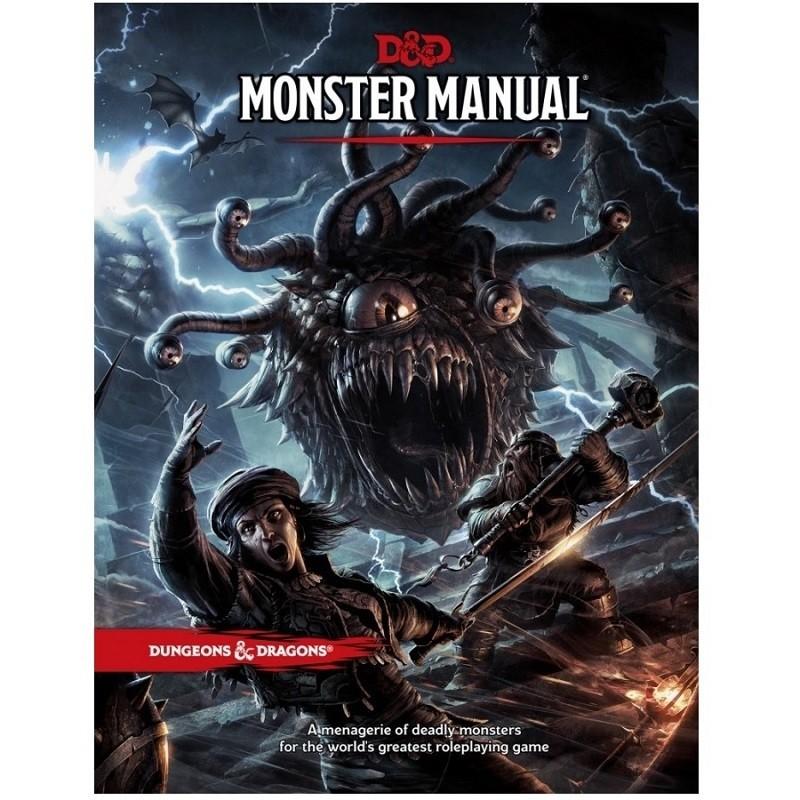 Dungeons & Dragons: Monster Manual (Livro dos Monstros Edição em PT) - Galápagos