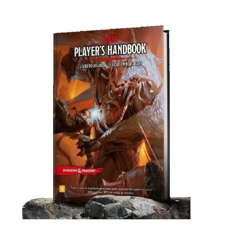 Dungeons & Dragons: Players Handbook - Livro Do Jogador (PT) - Galápagos