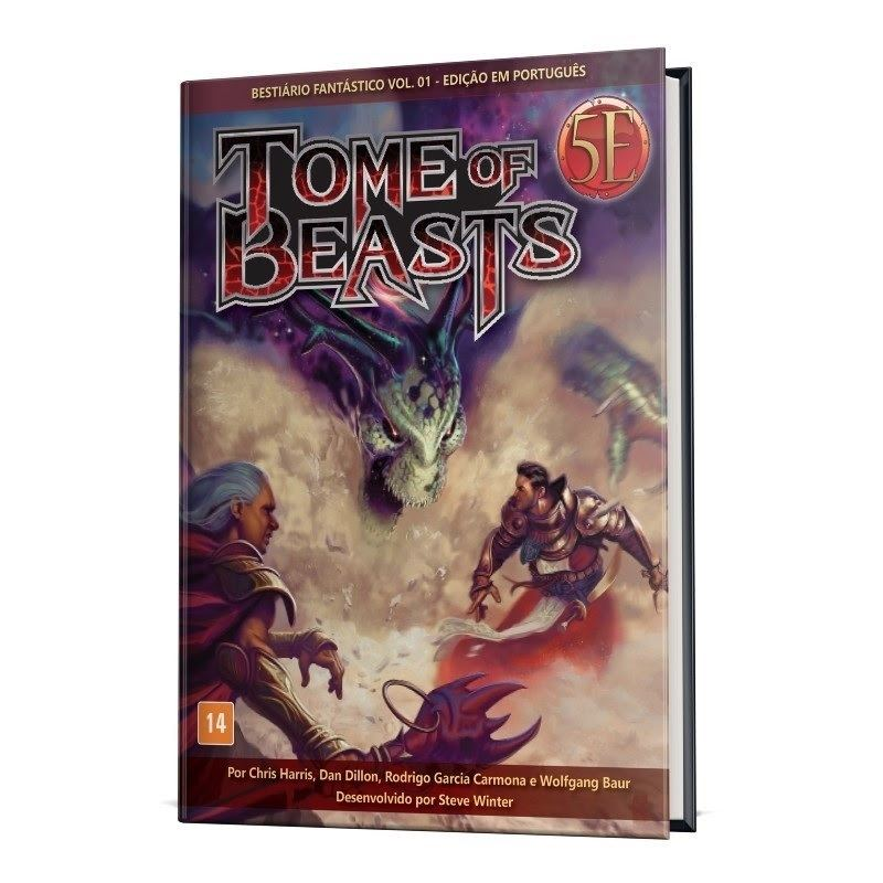 Dungeons & Dragons Tome Of Beasts Fantastico Vol.01 - Galápagos
