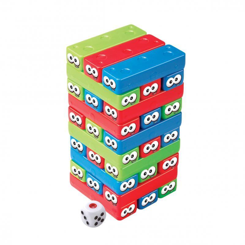 Equiliblocos Dican 5063 com 30 Bloquinhos Coloridos