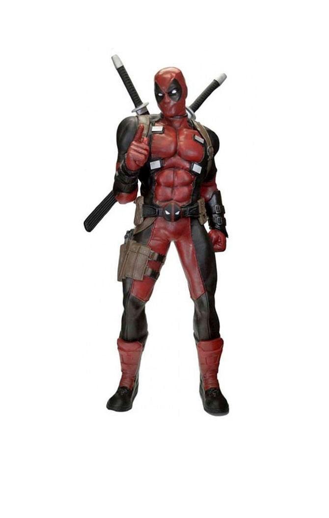 Estátua Deadpool - Marvel Comics -Prop Replica - Neca