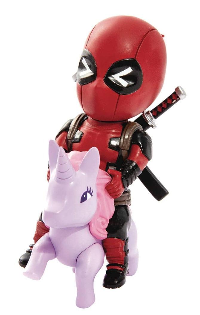 Estátua Deadpool Pony - Marvel Comics - Mini Egg Attack - Beast Kingdom