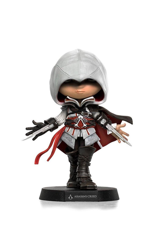 Estátua Ezio - Assasins Creed -MiniCo - Iron Studios