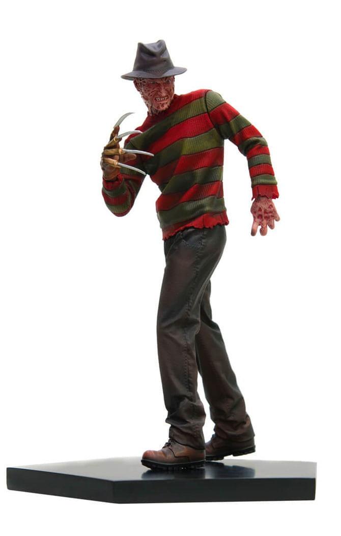 Estátua Freddy Krueger Regular - A Nightmare on Elm Street  - Bds Art Scale 1/10 - Iron Studios