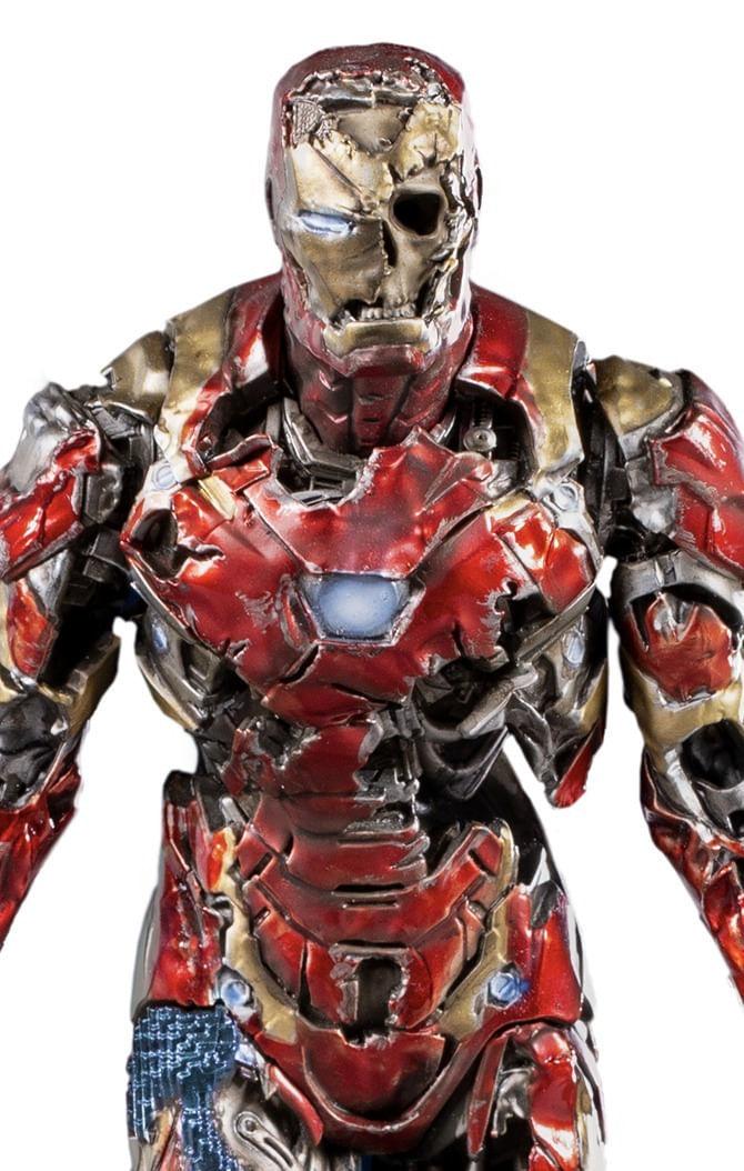 Estátua Iron Man Illusion Deluxe - Spider-Man: Far From Home - Art Scale 1/10 - Iron Studios