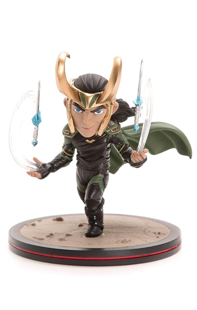 Estátua Loki - Marvel - Q-Fig - Quantum Mechanix