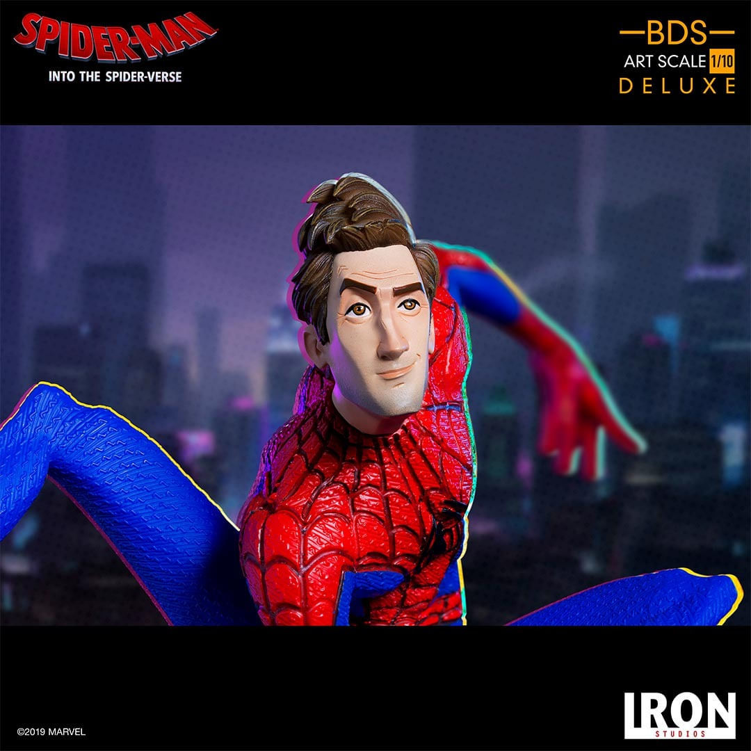 Estátua Peter Parker - Into the Spider Verse - Art Scale 1/10 - Iron Studios