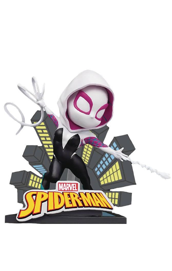 Estátua Spider Gwen - Spider-Man: Into Spiderverse - Mini Egg Attack - Beast Kingdom