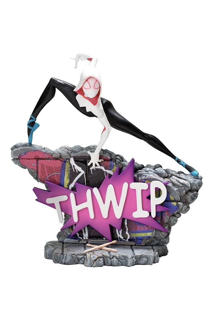 Estátua Spider Gwen - Spiderman: Into the Spiderverse - Art Scale 1/10 - Iron Studios