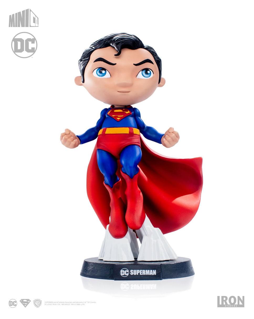 Estátua Superman - DC Comics - MiniCo - Iron Studios