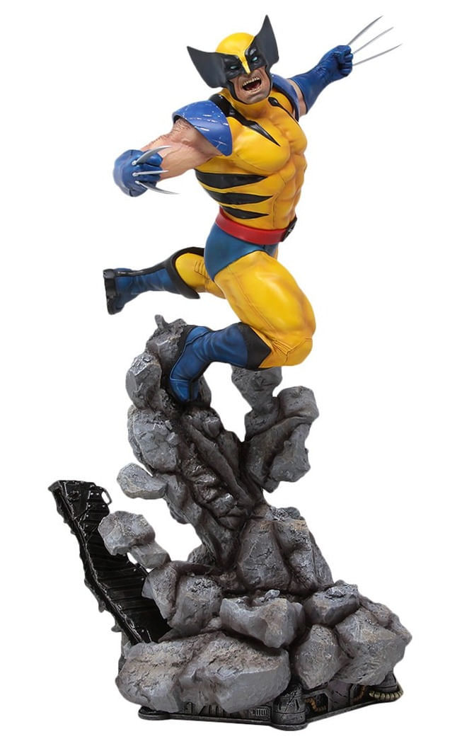 Estátua Wolverine - X-men - Fine Art Statue - Kotobukiya