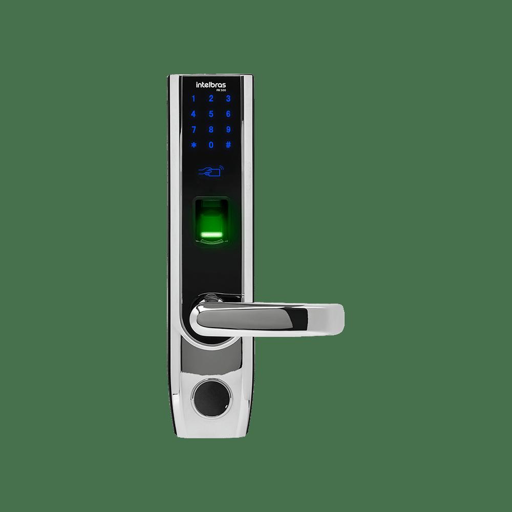 Fechadura Digital de Embutir Intelbras FR 500 lado direito
