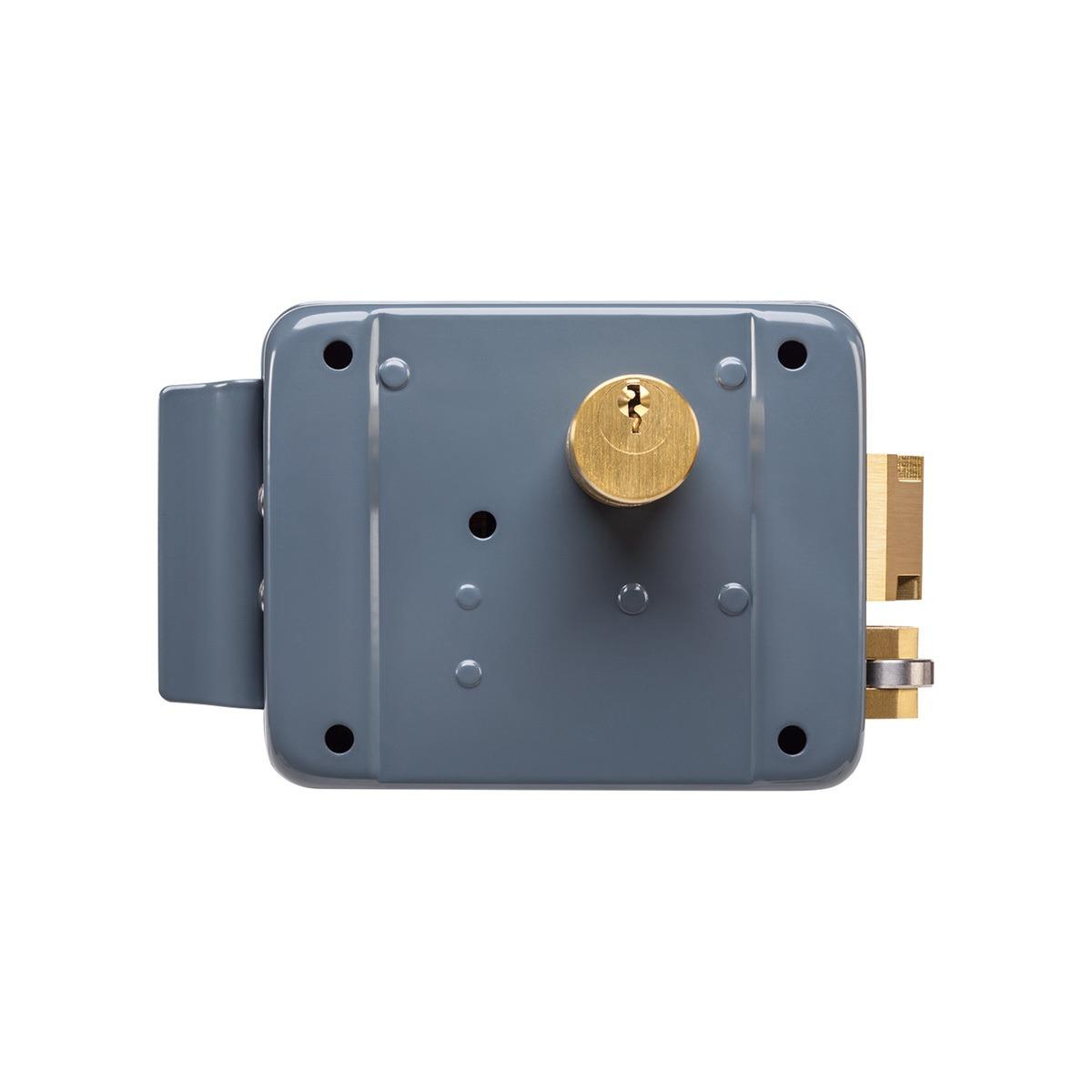 Fechadura Elétrica de Cilindro Fixo Intelbras FX 2000 CINZA