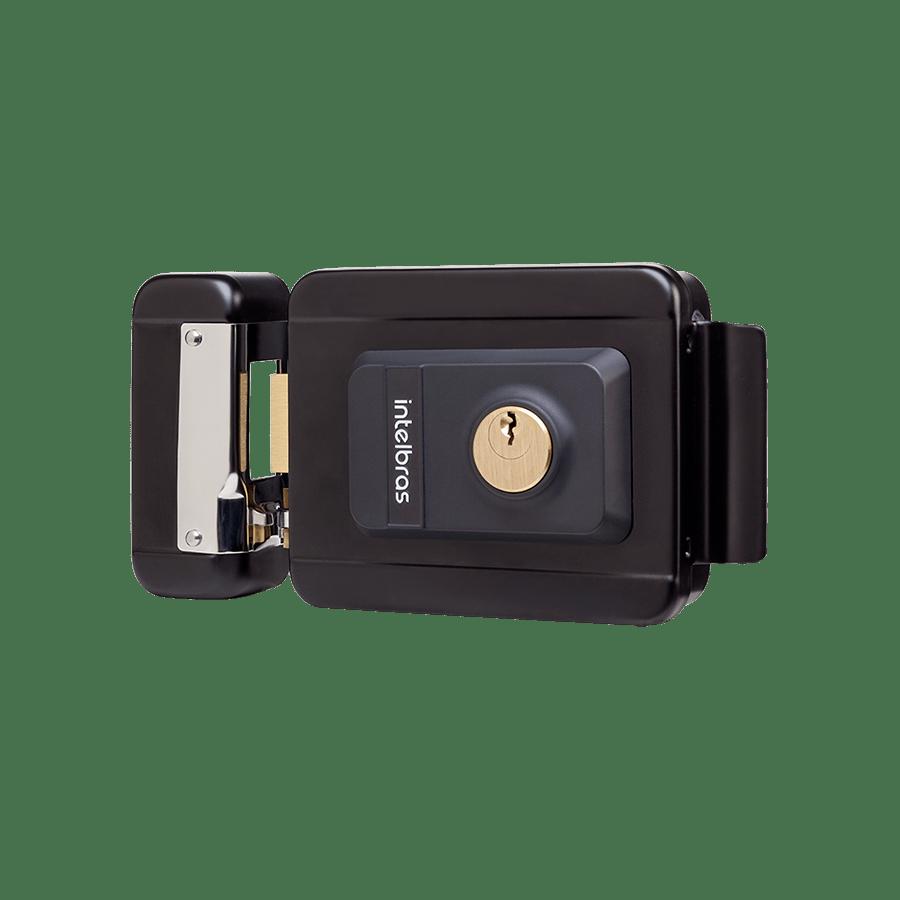 Fechadura Elétrica Intelbras FX 2000 UN Preta