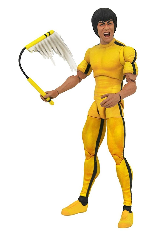 Figura Bruce Lee Yellow Jump Suit - Select - Diamond