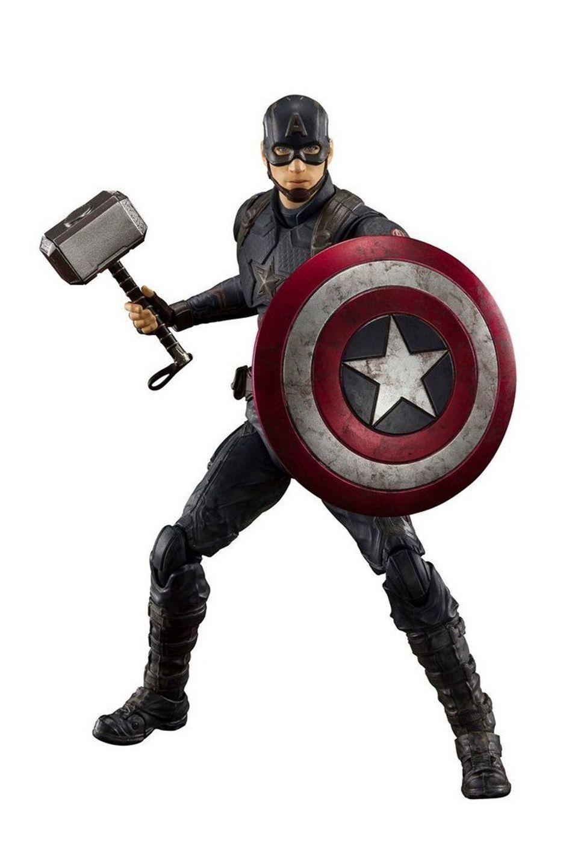 Figura Captain America  Final Battle - Avengers: Endgame - S.H.Figuarts - Bandai