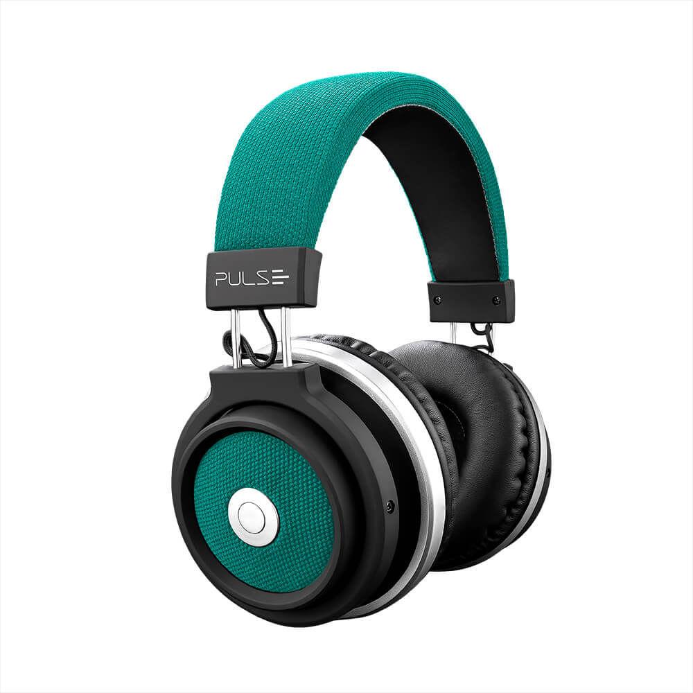 Fone De Ouvido Bluetooth Large Verde Pulse - PH231