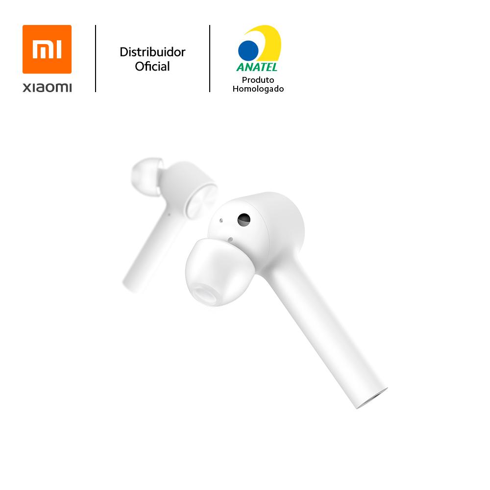 Fone de Ouvido Bluetooth Mi True Wireless Earphones, branco