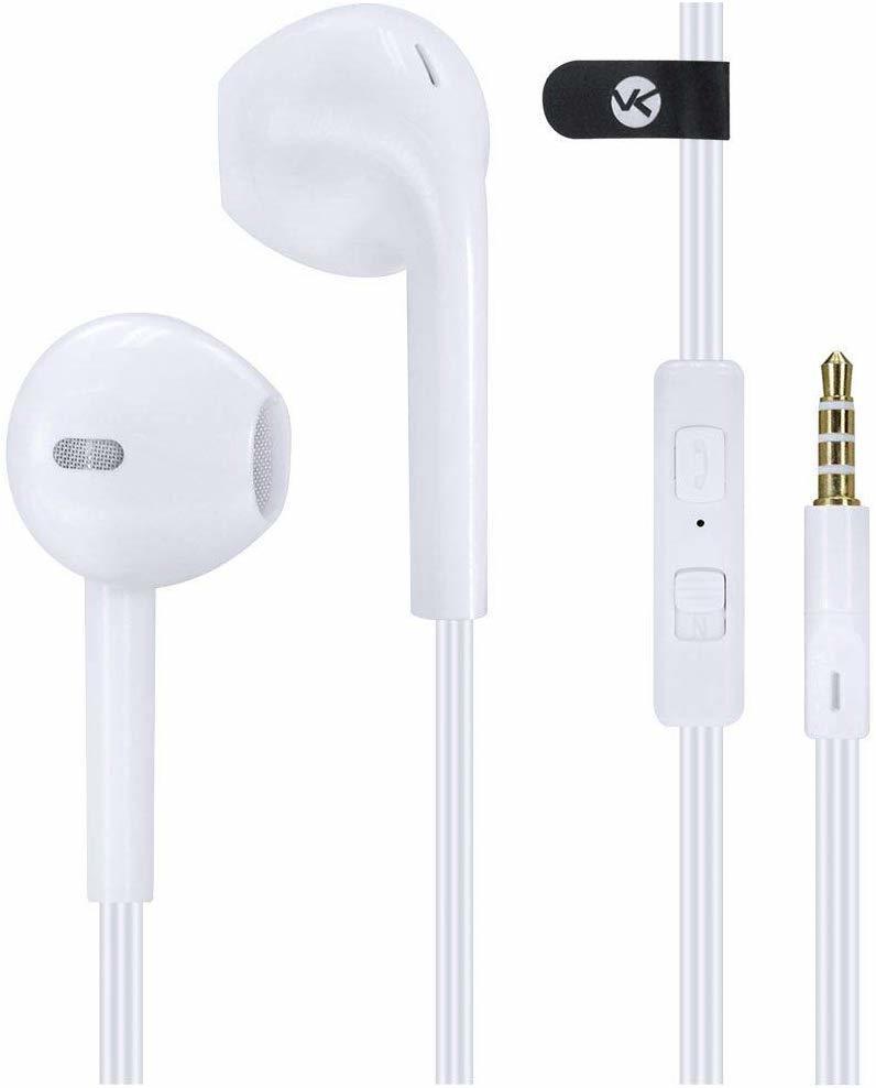 Fone de Ouvido Branco Space com Microfone - Vinik