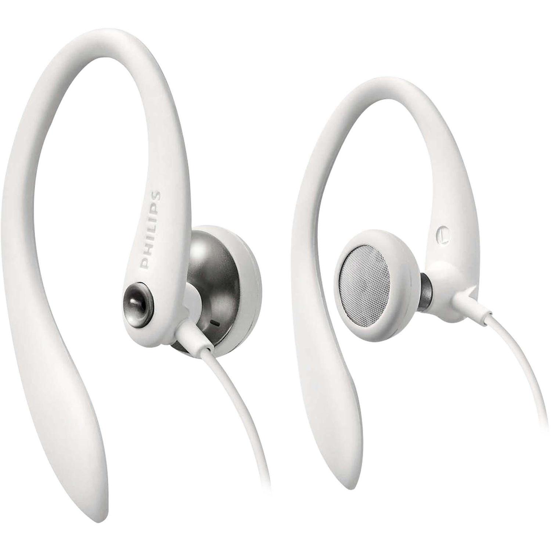 Fone de Ouvido Esportivo Branco Philips