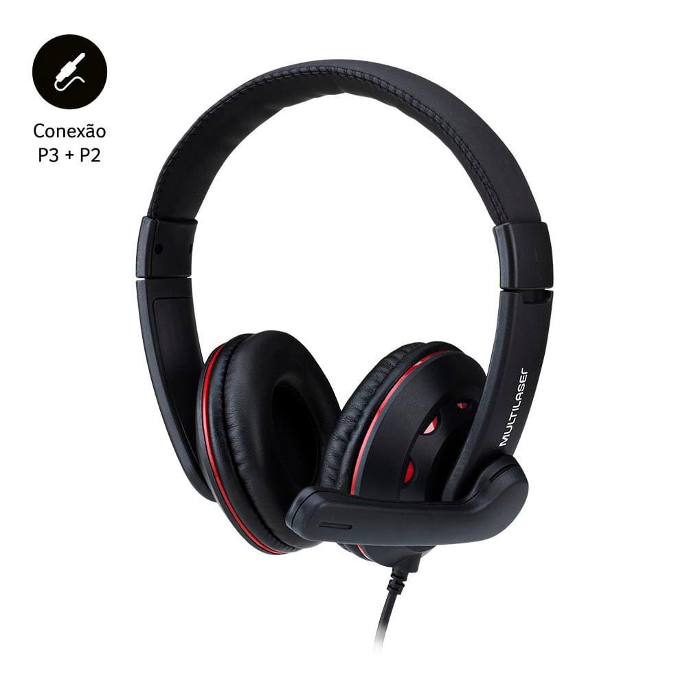 Fone De Ouvido Headset Gamer P3+P2 - PH335
