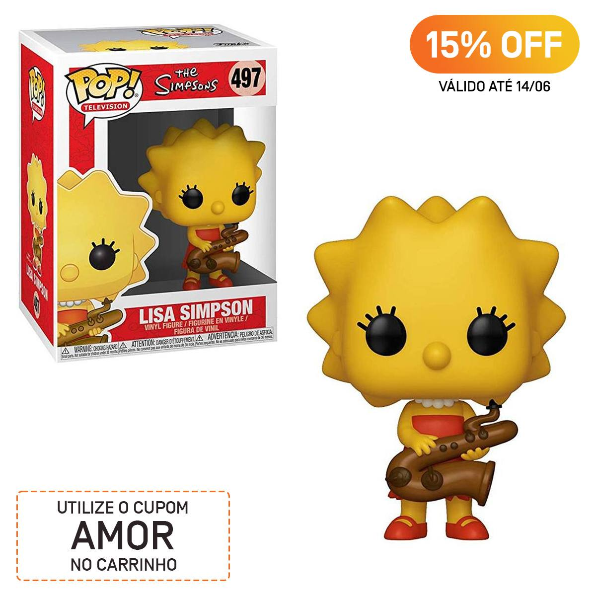 Funko Pop The Simpsons Lisa 497