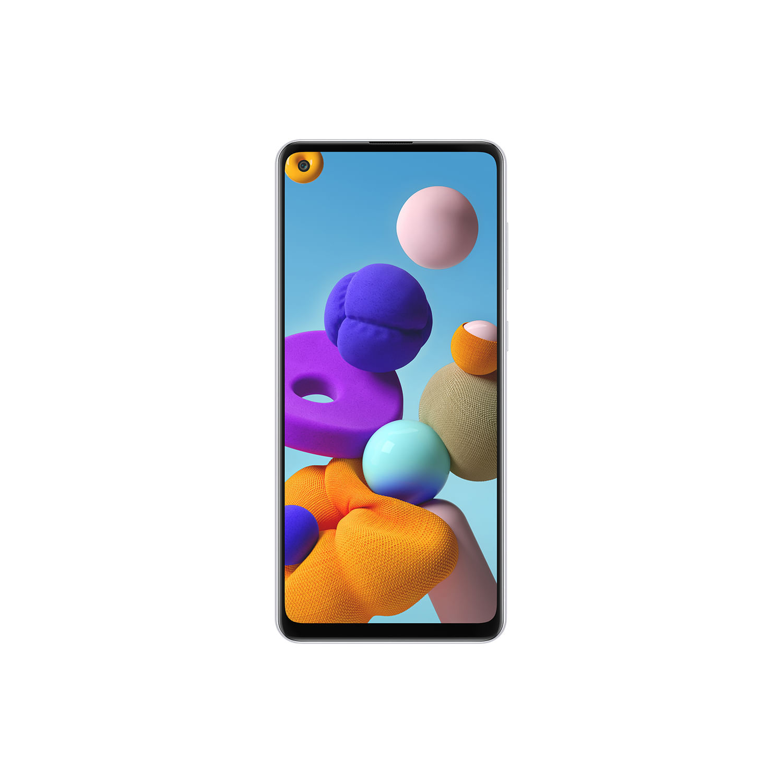 "Smartphone Samsung Galaxy A21s, Câmera Quádrupla 48MP+8MP+2MP+2MP, Frontal de 13MP, Tela Infinita de 6.5"", 64GB, 3GB RAM, Dual Chip, Android"