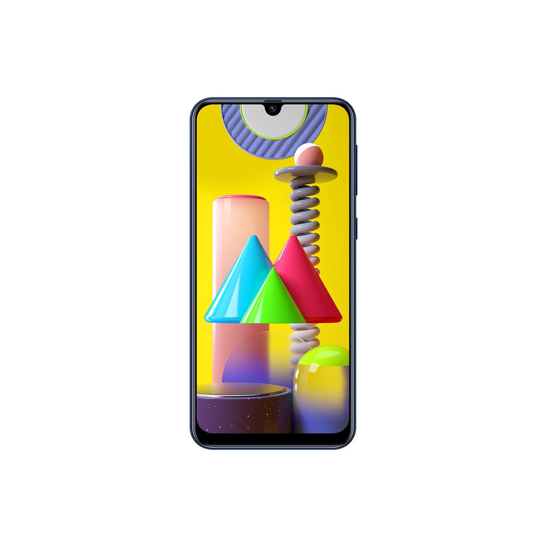 "Smartphone Samsung Galaxy M31, Câmera Quádrupla 64MP, 8MP, 5MP, 5MP, Frontal de 32MP, Tela Infinita de 6.4"", 128GB, 6GB RAM, Dual Chip, Android"