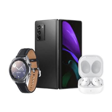 Galaxy Z Fold2 5G + Watch3 LTE 41MM + Buds Live