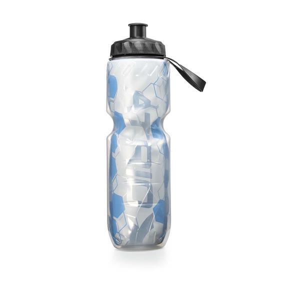 Garrafa Squeeze para Bike Térmica 650ml Material em Polietileno e Alumínio Azul Atrio - BI152