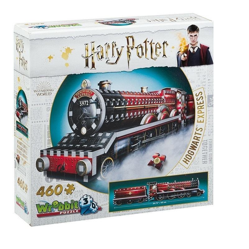 Harry Potter Puzzle 3D 460 Pçs - Expresso de Hogwarts - Galápagos