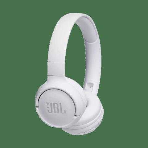 Headphone Bluetooth JBL Tune 500BT Branco Dobrável sem Fio