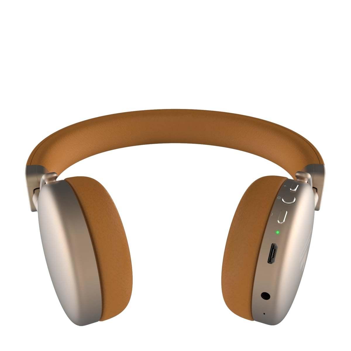 Headset Bluetooth Intelbras Focus Style Gold