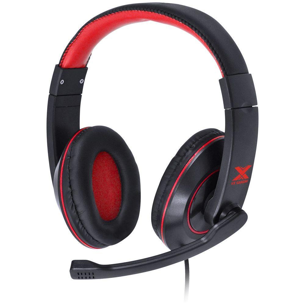 Headset Gamer VX Blade II com Microfone - Vermelho