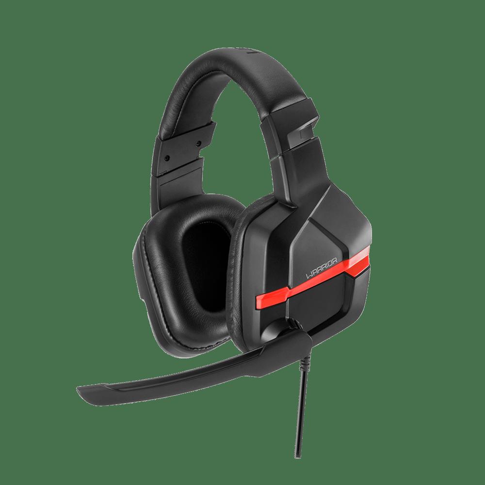 Headset Gamer Warrior Askari P2 Stereo PC Vermelho - PH293
