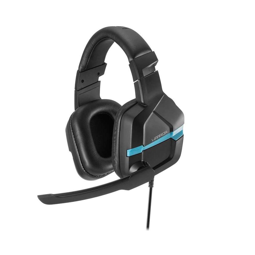Headset Gamer Warrior Askari P3 Stereo PS4 Azul - PH292