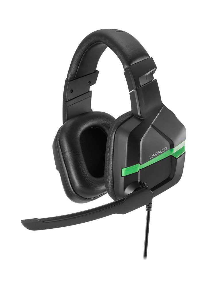 Headset Gamer Warrior Askari P3 Stereo XBOX ONE Verde - PH291