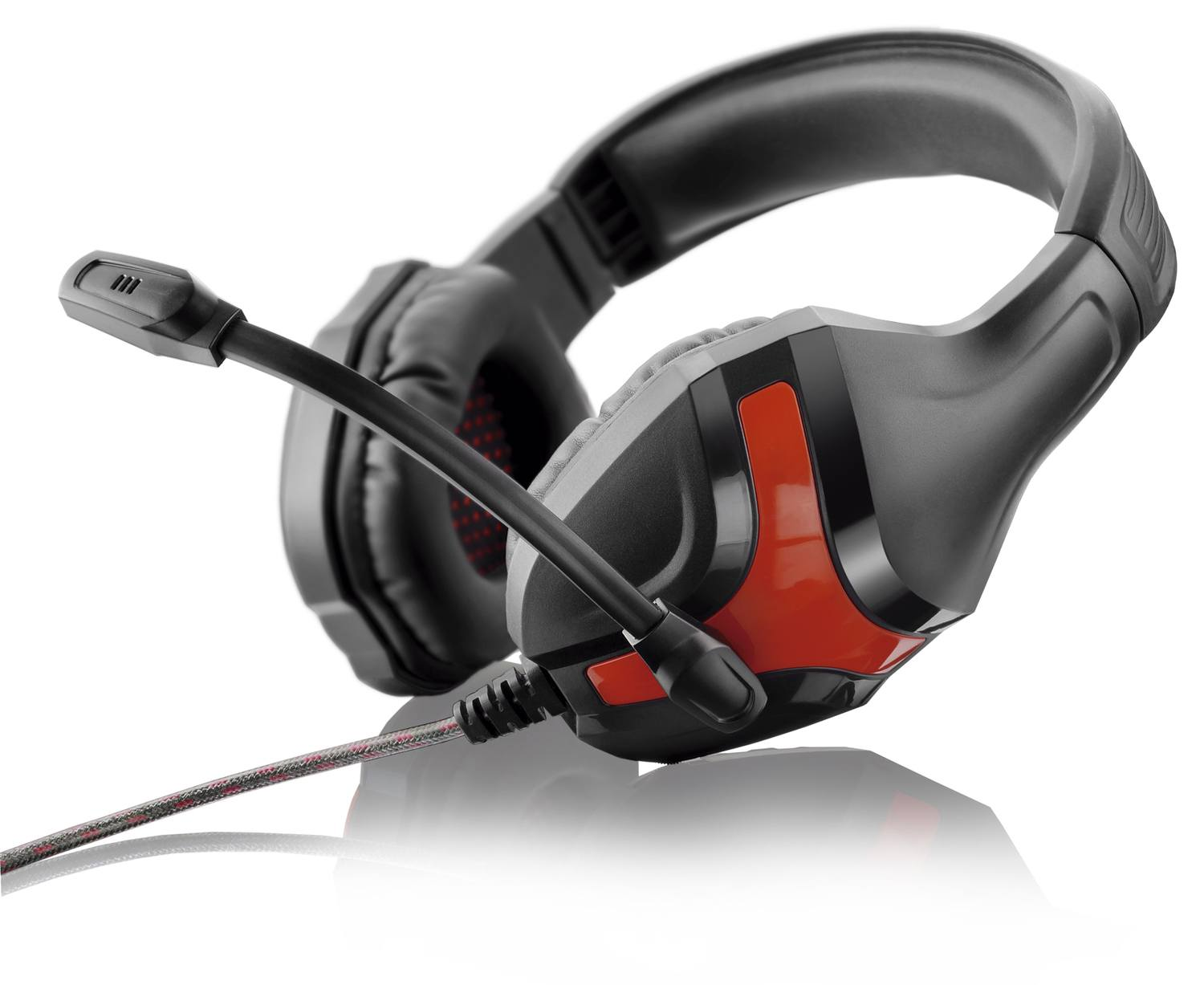 Headset Gamer Warrior Harve P2 Stereo Preto/Vermelho - PH101
