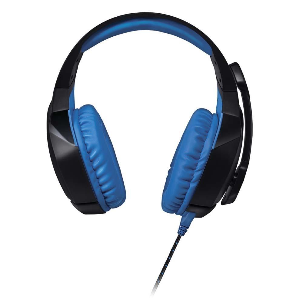Headset Gamer Warrior Straton USB 2.0 Stereo LED Azul - PH244