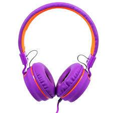 Headset OEX Fluor Roxo HS107