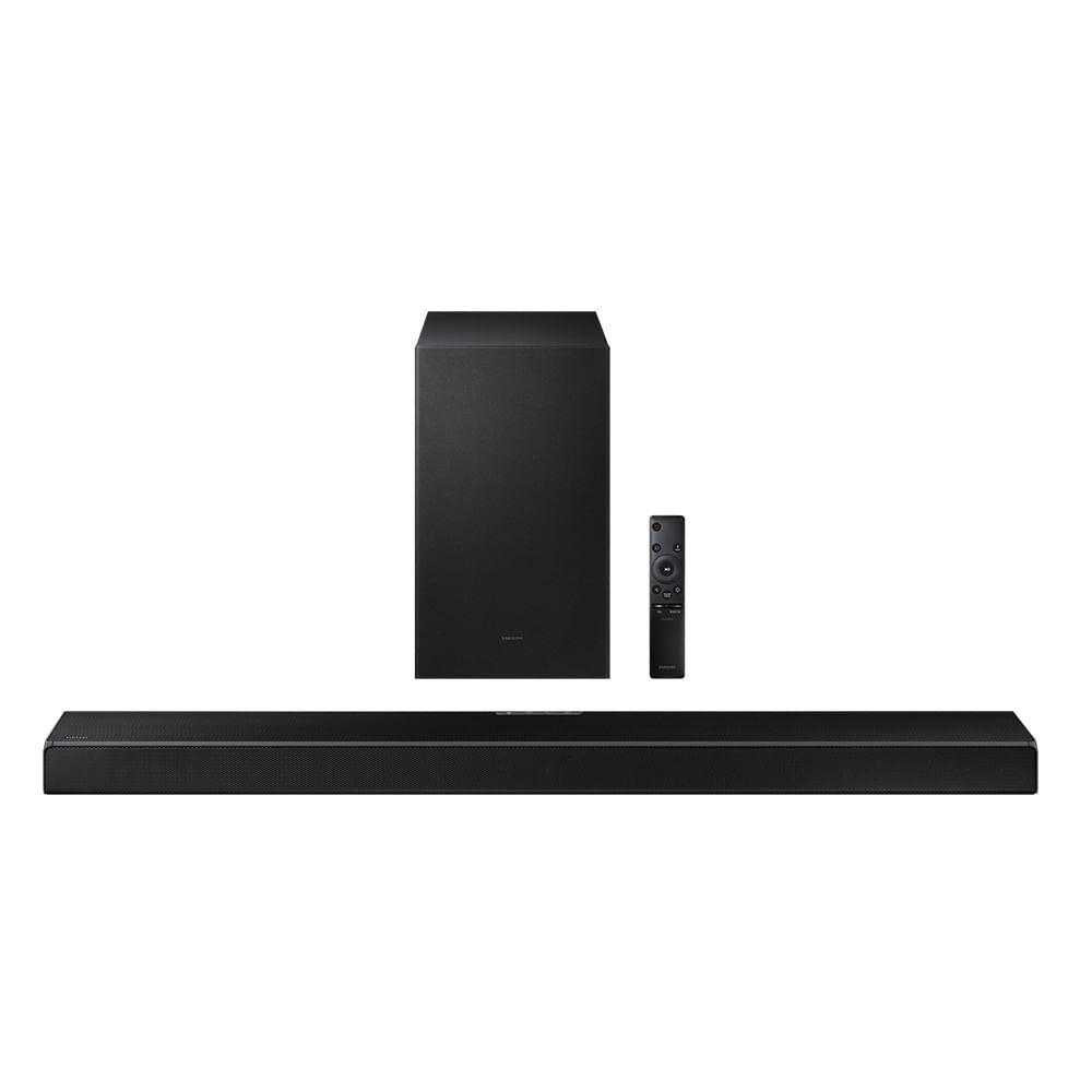 Soundbar Samsung HW-Q600A Bluetooth 3.1.2 Canais Subwoofer sem fio Dolby Atmos Acoustic Beam